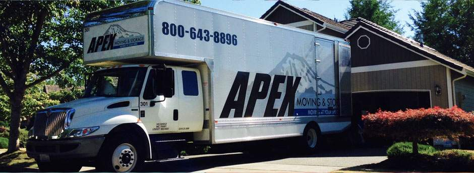 Apex moving truck