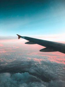 International Flight Out Window