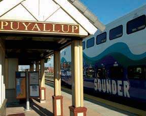 Puyallup, Washington bus station
