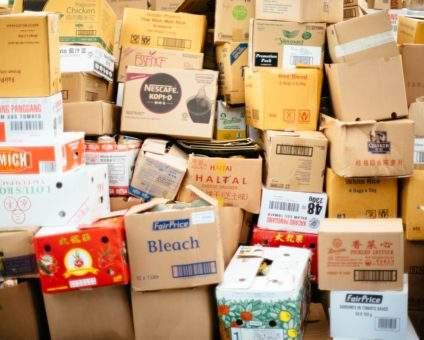 warehouse storage boxes